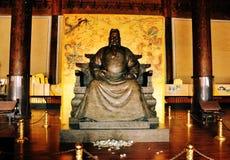Deus de assento chinês fotografia de stock royalty free