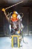 Deus de Daoist com a espada de povos de proteção do mal imagens de stock