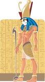 Deus de Egipto Gor ilustração stock