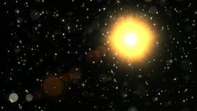 Deus de Sun da luz fotos de stock