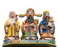 Deus do chinês da cor foto de stock