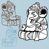 Deus do elefante Imagens de Stock
