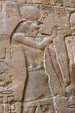 Deus egípcio Horus foto de stock royalty free