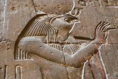 Deus egípcio Horus imagem de stock royalty free