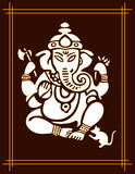 Deus Ganesha Imagens de Stock