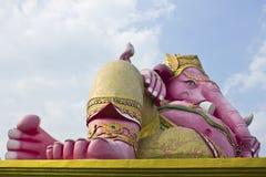 Deus Hindu, estátua de Ganesh em Tailândia Fotos de Stock