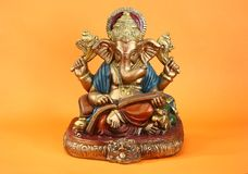 Deus hindu Ganesh ou Ganapati imagem de stock