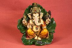 Deus hindu Ganesh ou Ganapati imagem de stock royalty free