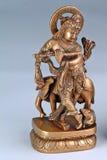 Deus Hindu Krishna Fotografia de Stock