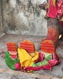 Deus indiano da vila Foto de Stock