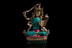 Deus indiano do metal Foto de Stock Royalty Free