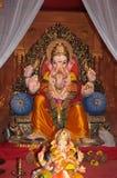 Deus-senhor Ganesh do elefante indiano de Wealthyl Fotos de Stock Royalty Free