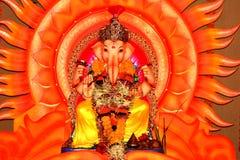 Deus-Senhor indiano Ganesh-XII Fotos de Stock Royalty Free