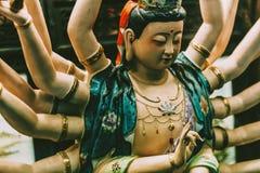 Deusa asiática Fotos de Stock Royalty Free