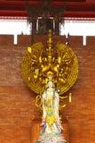 Deusa da mercê e das mil imagens de buddha das mãos Foto de Stock Royalty Free