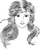 Deusa da mola Imagens de Stock Royalty Free