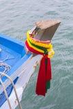 A deusa da ninfa/guardião do barco do barco Imagens de Stock Royalty Free