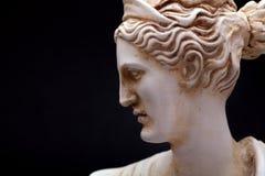 Deusa de Artemis Olympian fotos de stock