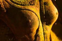 Deusa do estuque sagrado com musgo verde Foto de Stock