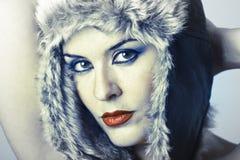 Deusa fria do inverno Imagem de Stock