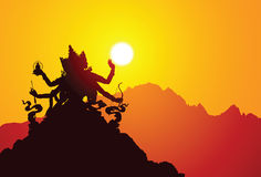 Deusa tibetana Foto de Stock Royalty Free