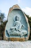Deuses de pedra cinzelados Fotos de Stock
