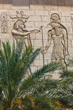 Deuses egípcios Horus foto de stock