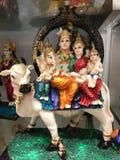 Deuses indianos Fotografia de Stock Royalty Free