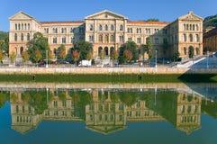 Deusto university stock image