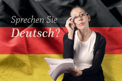 Deutsch Royalty Free Stock Photos