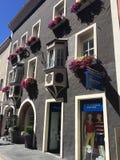 Deutsch-italienische Häuser Stockbilder