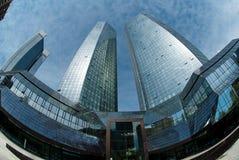 Deutsche银行大楼 免版税图库摄影