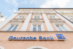 Deutsche银行 库存照片