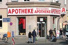 Deutsche Apotheke Lizenzfreie Stockbilder