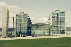 Deutsche bahn Bahnhof in Berlin, Deutschland Lizenzfreies Stockbild