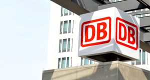 Deutsche Bahn (DB) Imagem de Stock Royalty Free