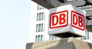 Deutsche Bahn (DB) Obraz Royalty Free