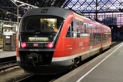 Deutsche Bahn train Stock Images