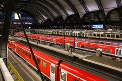 Deutsche Bahn trains Royalty Free Stock Photo