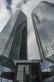 Deutsche Bank à Francfort sur Main image libre de droits