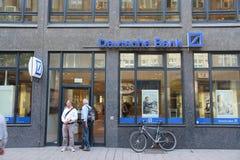 Deutsche Bank Fotografering för Bildbyråer