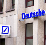 Deutsche Bank obrazy stock