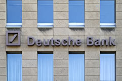 Deutsche Bank AG stock fotografie
