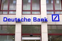 Deutsche Bank AG imágenes de archivo libres de regalías
