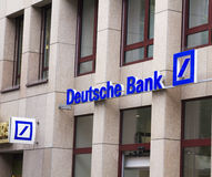 Deutsche Bank AG Foto de Stock Royalty Free