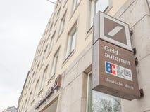 Deutsche Bank ATM Royalty Free Stock Images