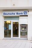 Deutsche Bank branch Royalty Free Stock Photography
