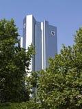 Deutsche Bank Building in Frankfurt am Main Stock Images