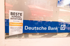 Deutsche Bank customer service Royalty Free Stock Photography