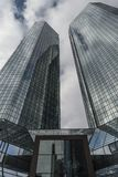 Deutsche Bank in Frankfurt am Main Lizenzfreies Stockbild